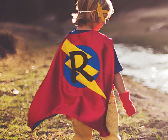personalized superhero capes