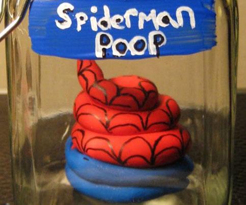 Superhero Poop