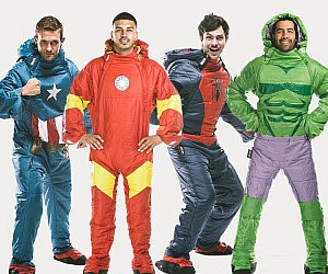 Wearable Superhero Sleeping Bags