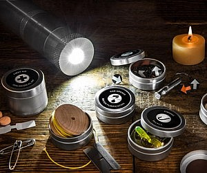 Survival Kit In A Flashlight