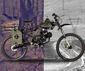 Apocalypse Survival Motorized Bike