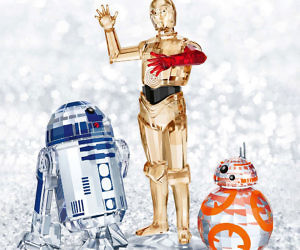 Swarovski Crystal Star Wars Sculptures