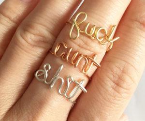 Lord Of The Rings Wedding Band 56 Cute Fancy Swear Word Rings