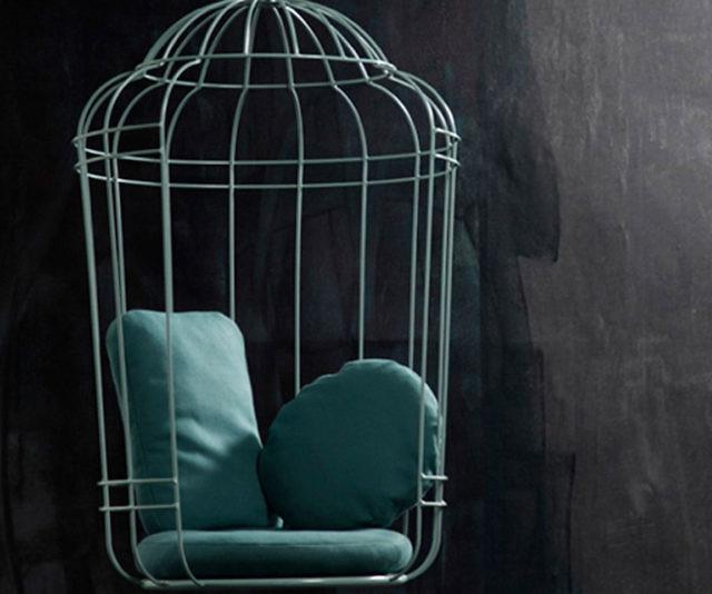 Fresh Swinging Bird Cage Chair GD81