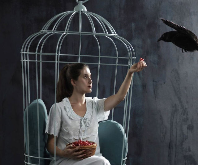 Swinging Bird Cage Chair