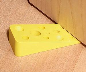 swiss cheese door stopper