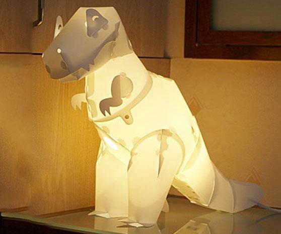 Rex Dinosaur Lamp