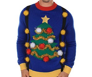 Christmas Tree Tacky Sweater