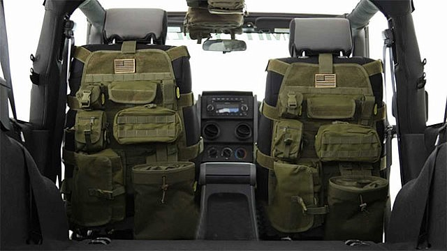 Tactical Car Seat Cover