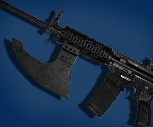 Tactical Firearm Axe Heads
