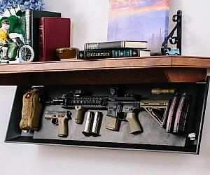Tactical Firearm Concealment Shelves