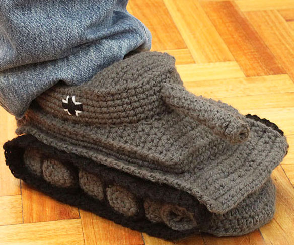 Knitting Pattern For Army Tank Slippers : Forum nie spi! Forum czuwa! (temat czynny od 21:00 do 7:00) - Off-Topic - Wor...
