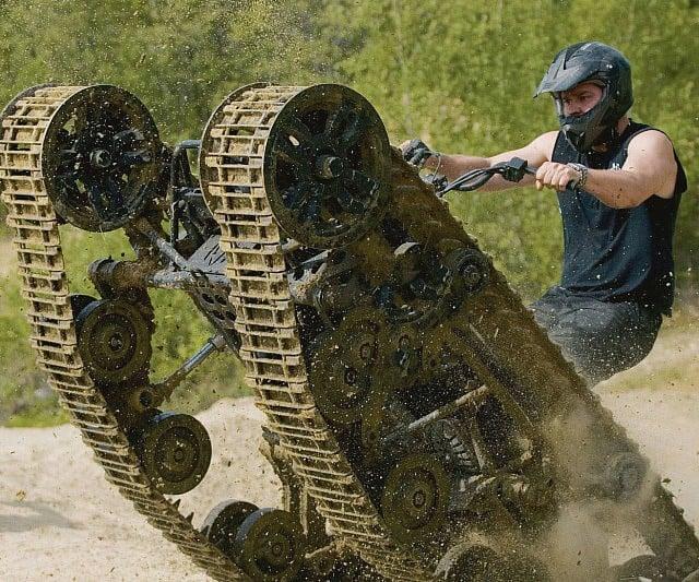 Ripsaw Tank Tread Atv