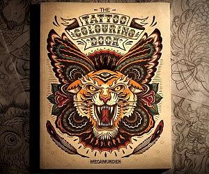 tattoo coloring book - Tattoo Coloring Book