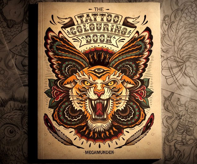 - Tattoo Coloring Book