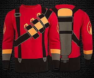 Team Fortress 2 Pyro Sweater