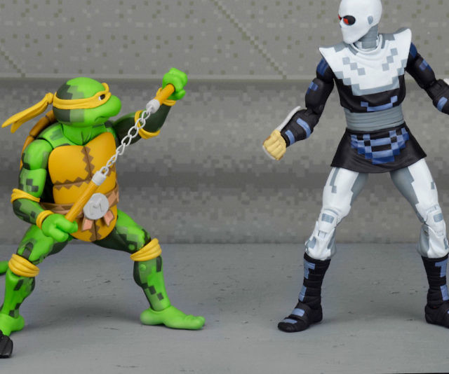 TMNT Arcade Game Action Figures