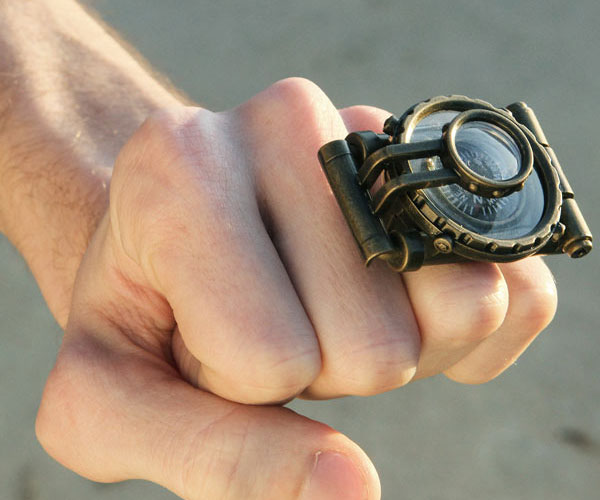 Steampunk Telescope Ring