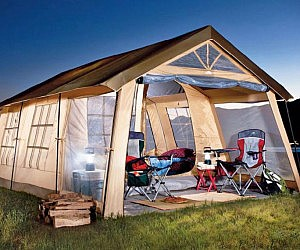 & Ten Person Cabin Tent