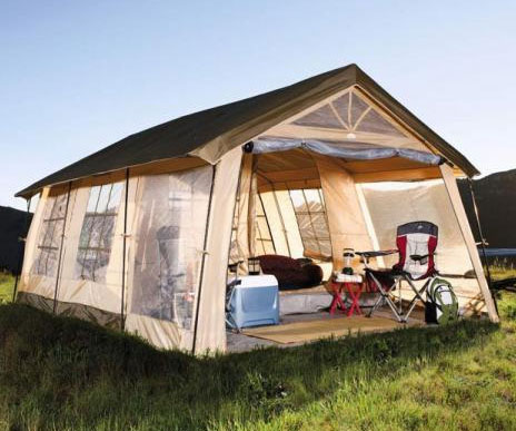 Ten Person Cabin Tent & Person Cabin Tent