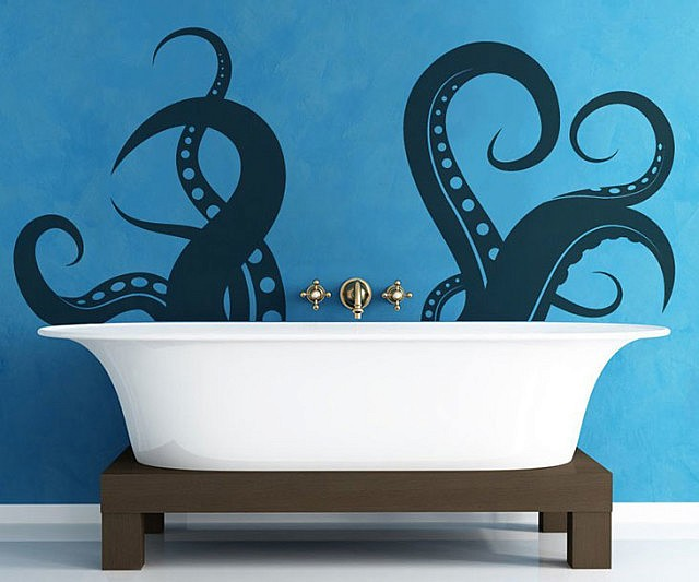 Inspirational Tentacle Wall Decal