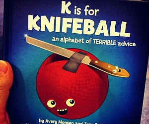 Alphabet Of Terrible Advice Book