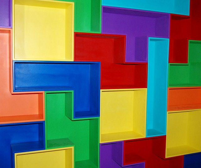 Tetris Shelves Set