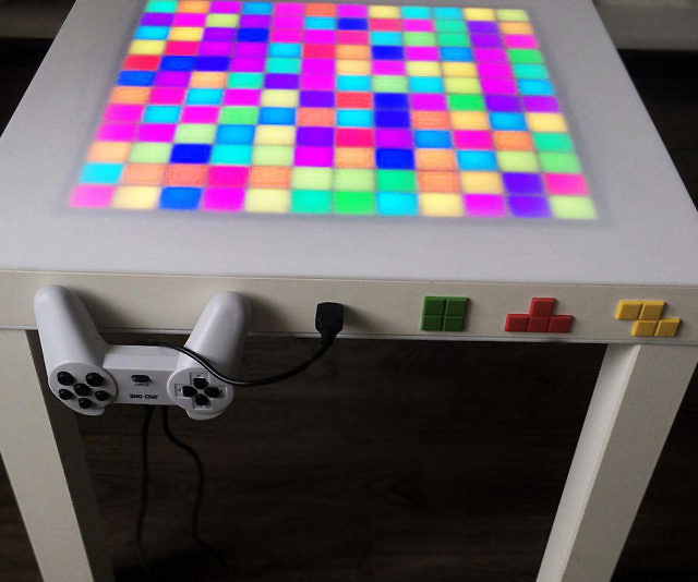 Tetris Game Coffee Table