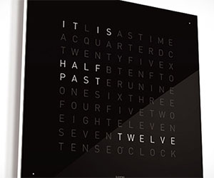 Qlocktwo Text Clock