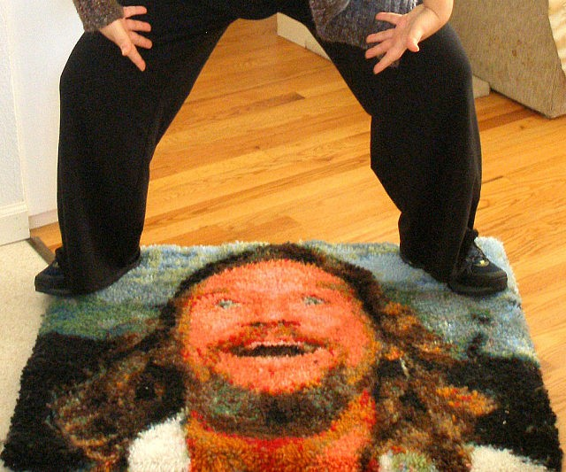 the rug from the big lebowski roselawnlutheran