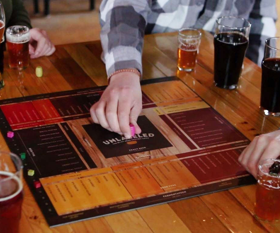 The Blind Beer Tasting Board Game