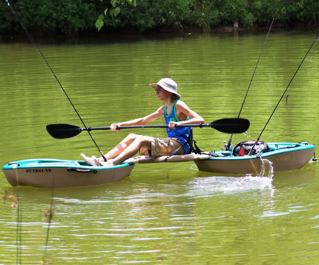The Compact Folding Kayak