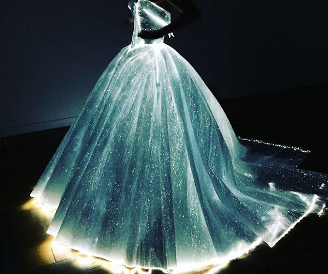 The Fiber Optic Dress