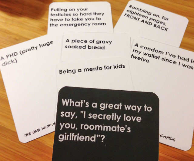 Friends Themed Cards Against Humanity