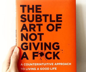 Image result for the subtle art of not giving a