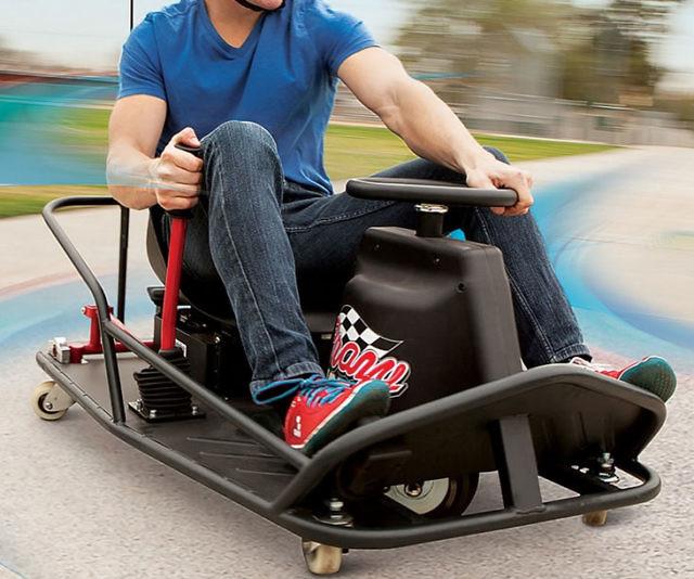 360 Degree Spin Drifting Go-Kart