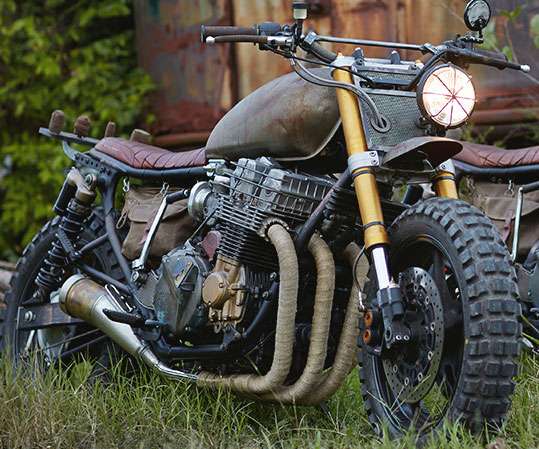 The Walking Dead Daryl's Motorcycle