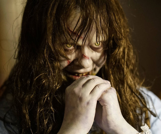 the exorcist life size regan prop