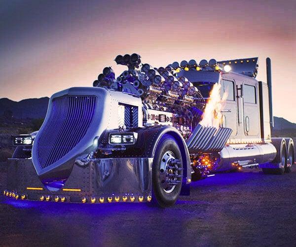Thor 24 Custom Big Rig Truck