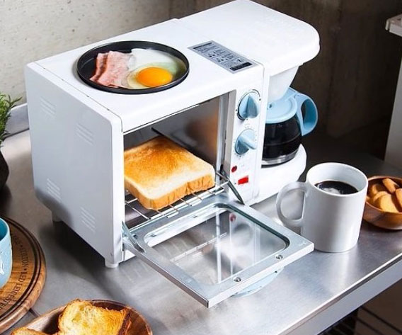 3-In-1 Breakfast Station - coolthings.us