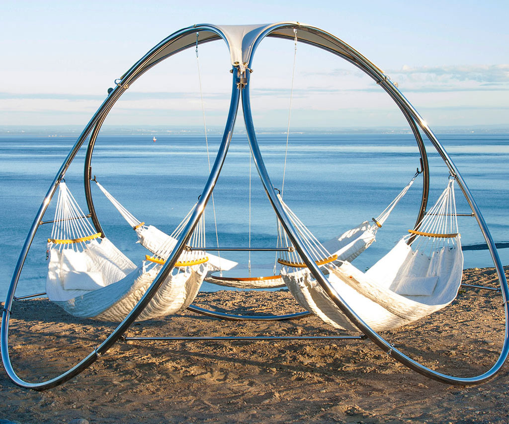 Modern Three Person Hammock