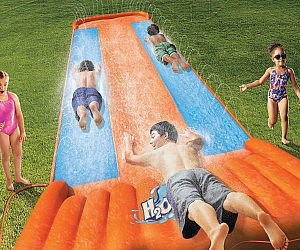 Three Person Slip-N-Slide