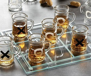 Tic-Tac-Toe Shot Game