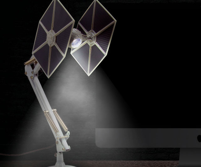Darth Vader TIE Fighter Desk Lamp