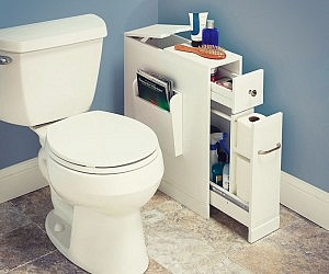Compact Bathroom Organizer