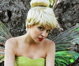 Tinkerbell Costume Wig