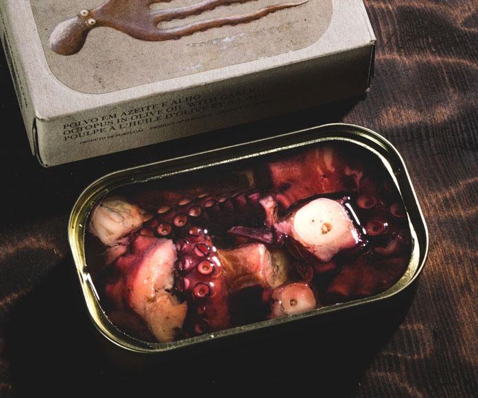 Gourmet Tinned Octopus