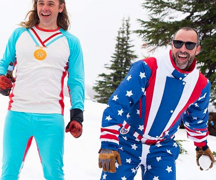 Retro Ski Suits