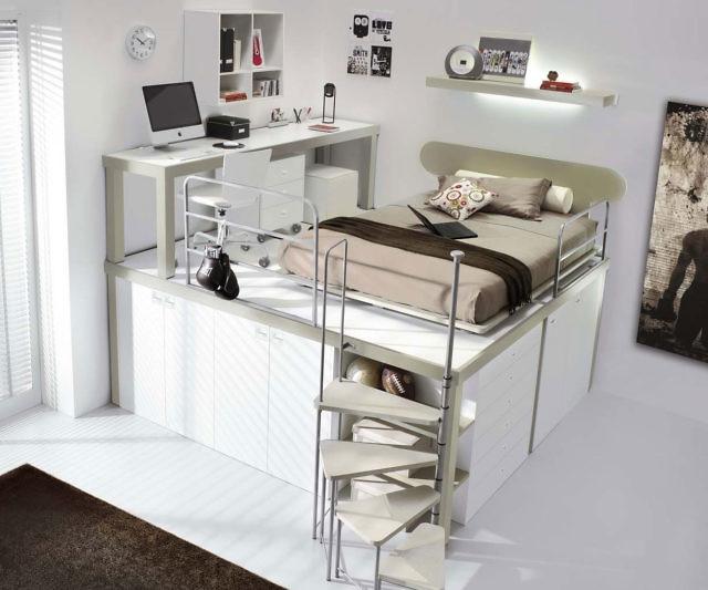 Unique Tiramolla Loft Bedrooms