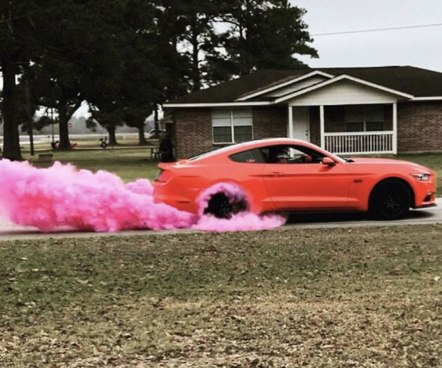 Burnout Gender Reveal Kit